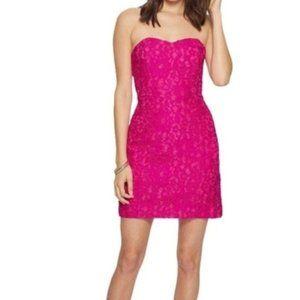 Lilly Pulitzer Pink Lace Sleeveless Dress